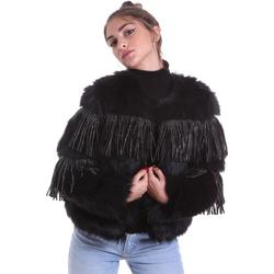 Oblečenie Ženy Saká a blejzre Gaudi 021FD39009 čierna