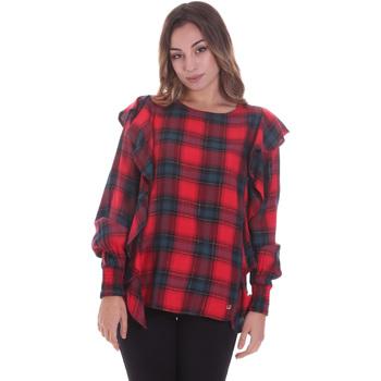 Oblečenie Ženy Blúzky Gaudi 021BD45016 Červená