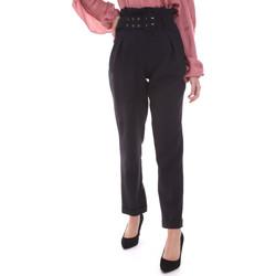 Oblečenie Ženy Nohavice Chinos a Carrot Gaudi 021FD25013 čierna