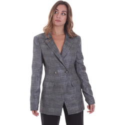 Oblečenie Ženy Saká a blejzre Gaudi 021FD35023 Šedá