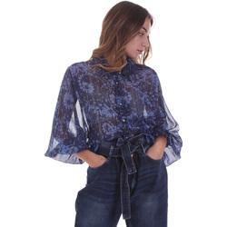 Oblečenie Ženy Blúzky Gaudi 021BD45006 Modrá