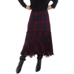 Oblečenie Ženy Sukňa Gaudi 021BD75006 Modrá