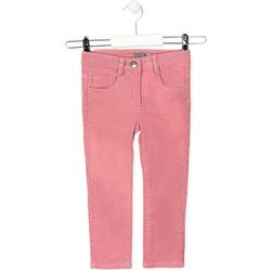 Oblečenie Deti Nohavice päťvreckové Losan 026-9001AL Ružová