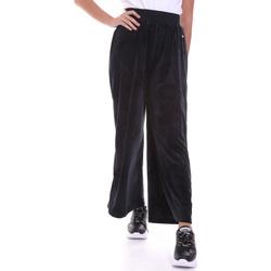 Oblečenie Ženy Padavé nohavice Key Up 5CS54 0001 čierna