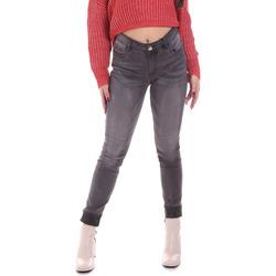 Oblečenie Ženy Rifle Skinny  Gaudi 021BD26024 Šedá