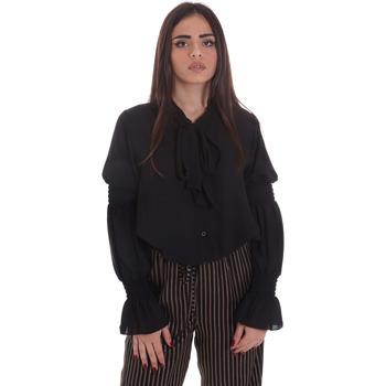 Oblečenie Ženy Blúzky Gaudi 021BD45025 čierna