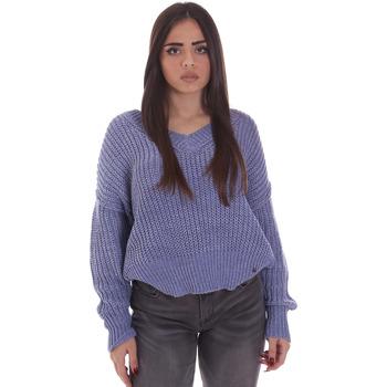 Oblečenie Ženy Svetre Gaudi 021BD53014 Modrá