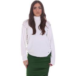 Oblečenie Ženy Svetre Gaudi 021BD53026 Biely