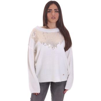 Oblečenie Ženy Svetre Gaudi 021BD53044 Biely