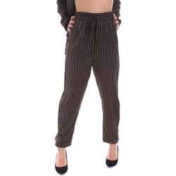 Oblečenie Ženy Nohavice Chinos a Carrot Gaudi 021FD25017 čierna