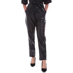Oblečenie Ženy Nohavice Chinos a Carrot Gaudi 021FD28001 čierna