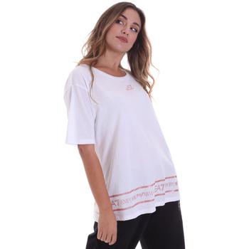 Oblečenie Ženy Tričká s krátkym rukávom Ea7 Emporio Armani 6HTT32 TJ52Z Biely