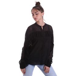 Oblečenie Ženy Košele a blúzky Fracomina F120W15014W00401 čierna