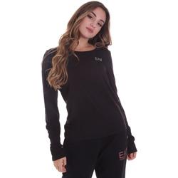 Oblečenie Ženy Tričká s dlhým rukávom Ea7 Emporio Armani 6HTT04 TJ28Z čierna