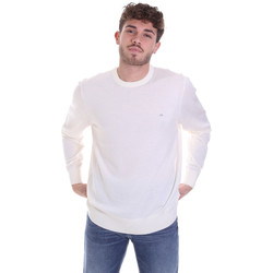 Oblečenie Muži Svetre Calvin Klein Jeans K10K102727 Biely