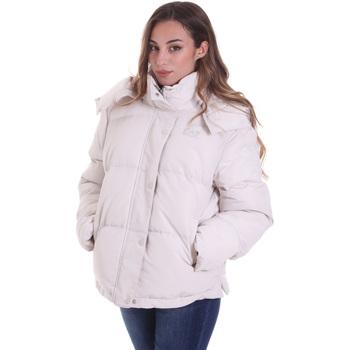 Oblečenie Ženy Vyteplené bundy Emporio Armani EA7 6HTB02 TN8AZ Béžová
