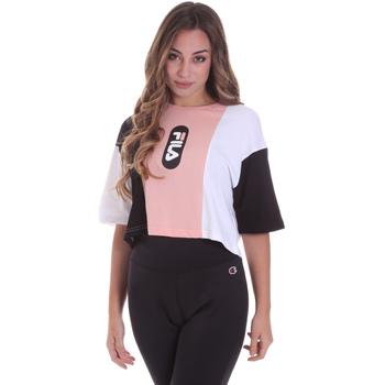 Oblečenie Ženy Tričká s krátkym rukávom Fila 687943 Ružová