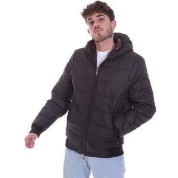 Oblečenie Muži Vyteplené bundy Gaudi 021GU35007 čierna