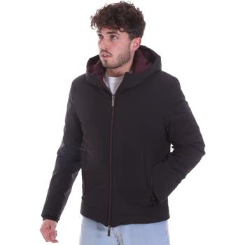 Oblečenie Muži Vyteplené bundy Gaudi 021GU35003 čierna
