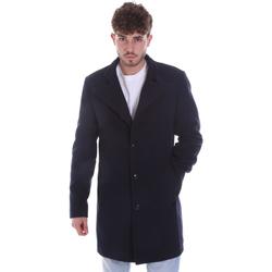 Oblečenie Muži Kabáty Gaudi 021GU35065 Modrá