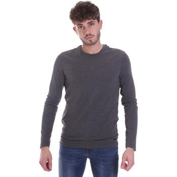 Oblečenie Muži Tričká s dlhým rukávom Gaudi 021GU64022 Šedá