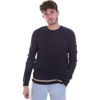 Oblečenie Muži Svetre Gaudi 021GU53022 Modrá