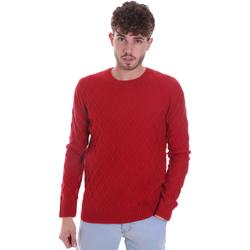 Oblečenie Muži Svetre Gaudi 021GU53034 Červená