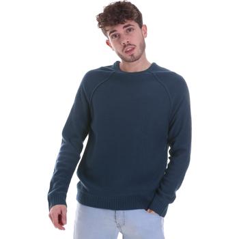 Oblečenie Muži Svetre Gaudi 021GU53041 Modrá