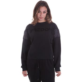 Oblečenie Ženy Mikiny Freddy F0WTBS1 čierna