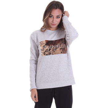 Oblečenie Ženy Mikiny Calvin Klein Jeans K20K202453 Šedá