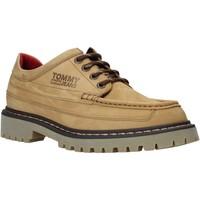 Topánky Muži Derbie Tommy Jeans EM0EM00536 žltá