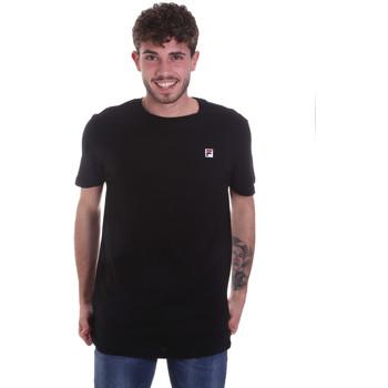 Oblečenie Muži Tričká s krátkym rukávom Fila 682393 čierna