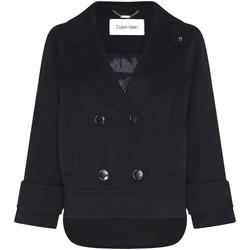Oblečenie Ženy Kabáty Calvin Klein Jeans K20K202461 čierna
