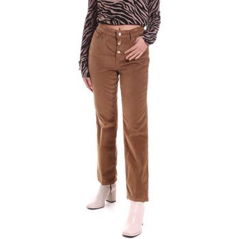 Oblečenie Ženy Nohavice päťvreckové Liu Jo WF0312 T4590 Hnedá