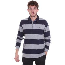 Oblečenie Muži Polokošele s dlhým rukávom Navigare NV30029 Modrá
