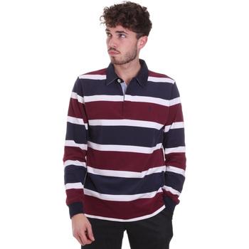Oblečenie Muži Polokošele s dlhým rukávom Navigare NV30026 Červená