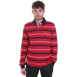 Oblečenie Muži Polokošele s dlhým rukávom Navigare NV30030 Červená