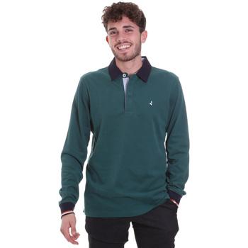 Oblečenie Muži Polokošele s dlhým rukávom Navigare NV32023 Zelená
