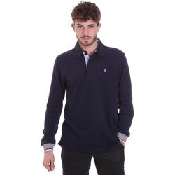 Oblečenie Muži Polokošele s dlhým rukávom Navigare NV32023 Modrá