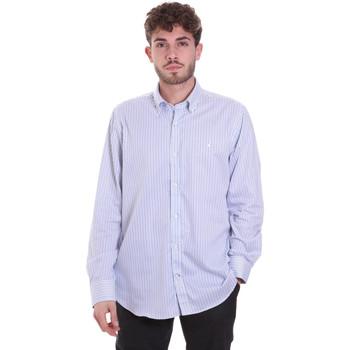 Oblečenie Muži Košele s dlhým rukávom Navigare NV91111 BD Modrá