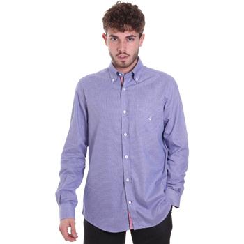 Oblečenie Muži Košele s dlhým rukávom Navigare NV91133 BD Modrá