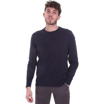 Oblečenie Muži Tričká s dlhým rukávom Sseinse MI1691SS Modrá