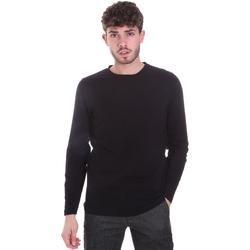 Oblečenie Muži Tričká s dlhým rukávom Sseinse MI1691SS čierna