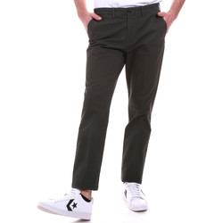 Oblečenie Muži Nohavice Chinos a Carrot Navigare NV55187 Zelená