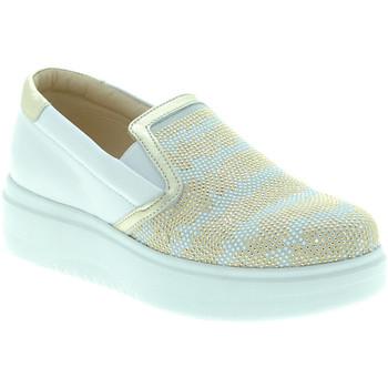 Topánky Ženy Slip-on Exton E02 Biely