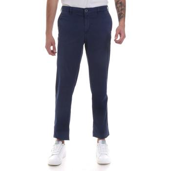 Oblečenie Muži Nohavice Chinos a Carrot Navigare NV55183 Modrá
