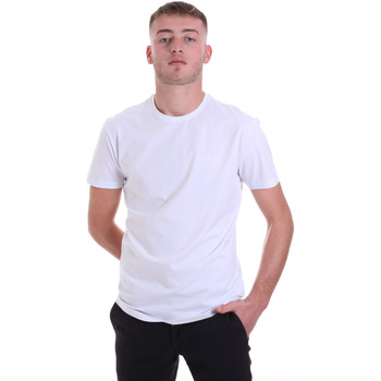 Oblečenie Muži Tričká s krátkym rukávom Antony Morato MMKS01855 FA120022 Biely