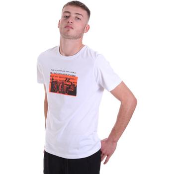 Oblečenie Muži Tričká s krátkym rukávom Antony Morato MMKS01880 FA100144 Biely
