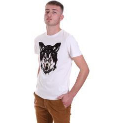 Oblečenie Muži Tričká s krátkym rukávom Antony Morato MMKS01878 FA100144 Biely