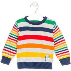 Oblečenie Deti Svetre Losan 027-5003AL Šedá